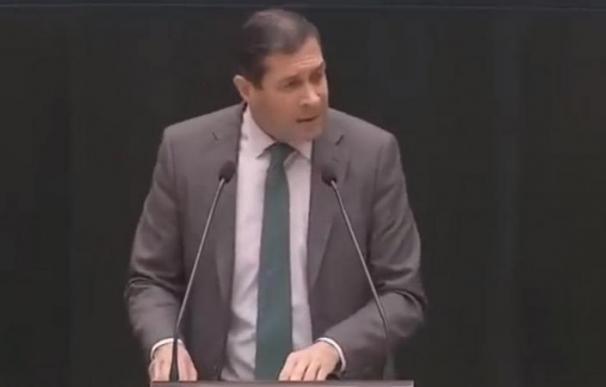 Pedro Fernández, concejal y diputado de Vox en Madrid. /L.I.