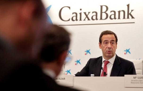 Foto: El consejero delegado de CaixaBank, Gonzalo Gortázar (Efe)