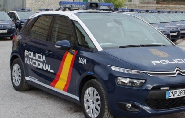 Imagen de recurso de un coche de Policía Nacional